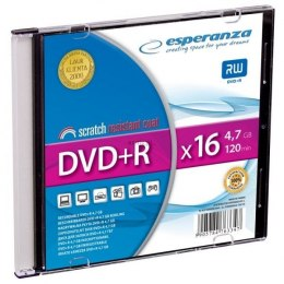 DVD+R Esperanza 4,7GB x 16 Slim 1 (1119)