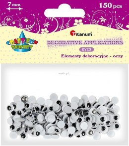 Oczka Titanum Craft-fun Craft-Fun Series oczy 150 szt (O002)