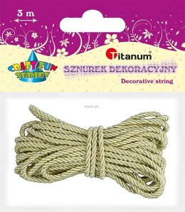 Sznurek Titanum Craft-Fun Series 3 m (polyester)